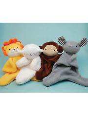 Lovey Dovey Sewing Pattern: Lion, Lamb, Monkey, Mouse