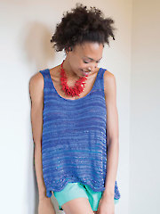 Nina Tank Top Knit Pattern