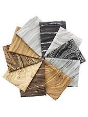 Sandscapes Mineral/Mocha Fat Quarters - 10/pkg.