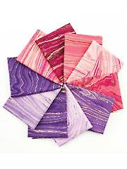 Sandscapes Blush/Violet Fat Quarters - 10/pkg.