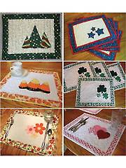 Seasonal Placemats: Sets 1 & 2 Sewing Pattern