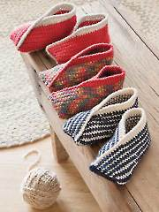 Tiptoe Crochet Slippers Annie's Signature Designs
