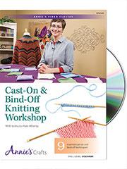 Cast-On & Bind-Off Knitting Workshop DVD