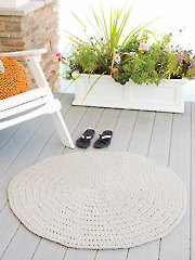 ANNIE'S SIGNATURE DESIGNS: Helical Mat Knit Pattern