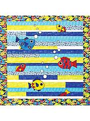 Free in the Sea Quilt Pattern