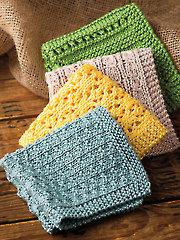 Simply Washcloths Knit Pattern