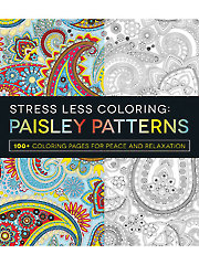 Stress Less Coloring: Paisley Patterns