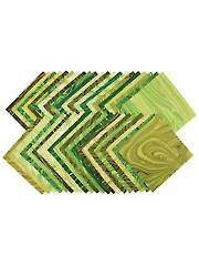Sandscapes Moss/Apple Layer Cake - 42/pkg.