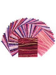 Sandscapes Blush/Violet Charm Pack - 42/pkg.