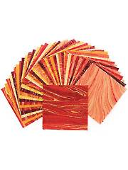 Sandscapes Sunglow/Coral Charm Pack - 42/pkg.