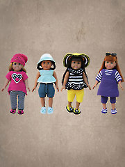 "Playclothes for 18"" Dolls"