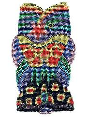 Fancy Fish Beaded Needlepoint Kit