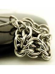 Celtic Labyrinth Pendant Kit Stainless Steel