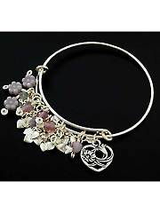 Lilac Heart Bangle Kit