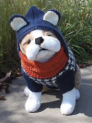 Hound Dog Hoodie Knit Pattern