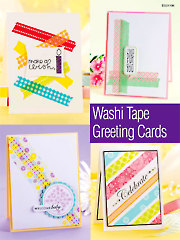 Washi Tape Greeting Cards