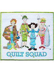 Quilt Squad Wall Hanging Kit or Pattern