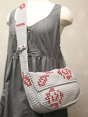 Rose Messenger Bag