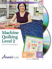 Machine Quilting Level 2 Class DVD