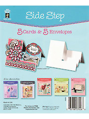 Side Step Die Cut Cards & Envelopes 5/pkg