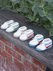 Little Hands & Feet Booties & Fingerless Mitts