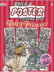 Build A Poster Coloring Book - Fairy Princess