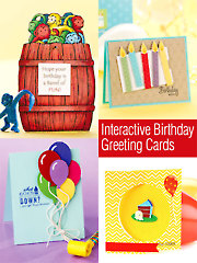 Interactive Birthday Greeting Cards
