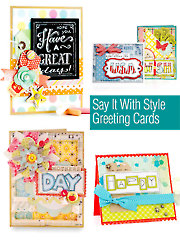 Say it with Style Greeting Cards