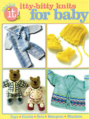 Itty Bitty Knits for Baby Book