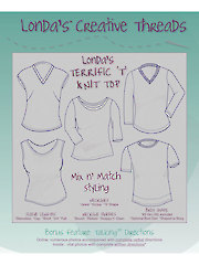 Londa's Terrific 'T' Knit Top Sewing Pattern