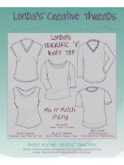 Londa's Terrific 'T' Knit Top Sewing Pattern