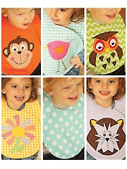 Reversible Crossover Bibs Sewing Pattern