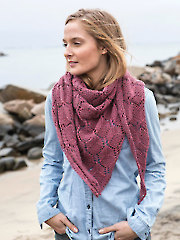 Phlox Shawl Knit Pattern