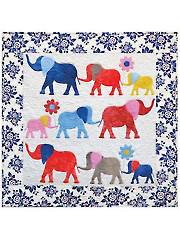 Heffalumps Wall Hanging Pattern