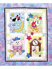 Fairy Tale Baby Quilt Pattern