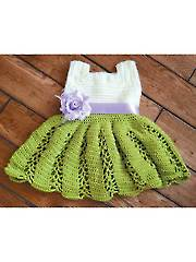 Ribbon & Lace Toddler Dress