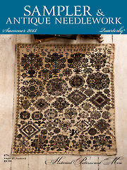 Sampler & Antique Needlework Quarterly Summer 2015