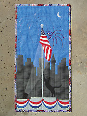 Trouble the Patriot Wall Hanging Pattern