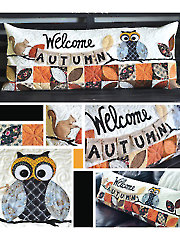 Welcome Autumn Bench Pillow Sewing Pattern