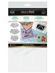 Deco Foil Foam Adhesive Sheets