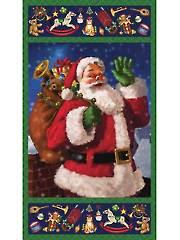 """Santa's Surprise Panel - 24"""" x 42"""""""