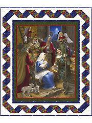 Rejoice Nativity Quilt Kit