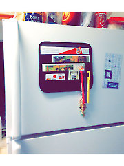 Magnetic Fridge Organizer
