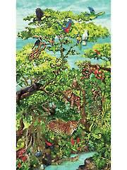 "Rainforest Romp Panel - 24"" x 42"""