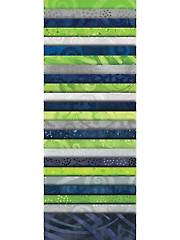 #1 Fan Green/Blue/Gray Jelly Roll - 24/Pkg.