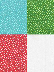 Festive Forest Freckled Dot 1-Yard Cuts