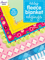 Easy Fleece Blanket Edgings