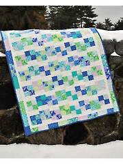 Pebbles in the Brook Quilt Pattern