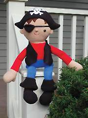Roger the Pirate Sewing Pattern