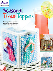 Seasonal Tissue Toppers Plastic Canvas Pattern